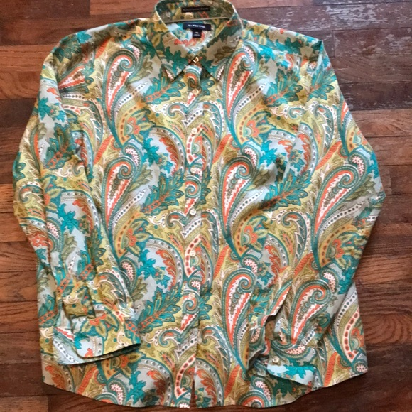 Lands' End NWOT Women's Size 18 Pinpoint Oxford